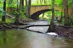 Ponte do tijolo Imagem de Stock Royalty Free