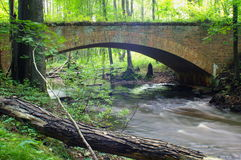 Ponte do tijolo Fotografia de Stock