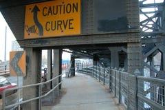 Ponte do trajeto do pé 109ST Imagem de Stock