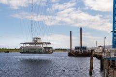 Ponte do transportador, Middlesbrough, Reino Unido imagem de stock royalty free