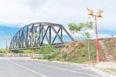 Ponte do trem Imagens de Stock