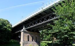 Ponte do vale na cidade de Scarborough imagem de stock royalty free