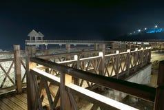 Ponte do ziguezague Fotografia de Stock Royalty Free