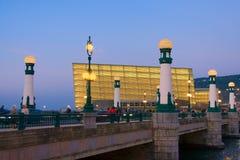 Ponte do zurriola Imagens de Stock Royalty Free