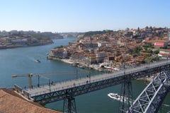 Ponte Dom Luis I Portugal Porto Arkivbild
