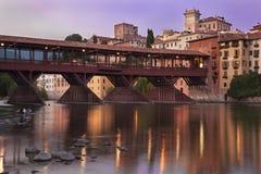 Ponte dos alpines de Bassano Fotografia de Stock