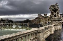 A ponte dos anjos Foto de Stock