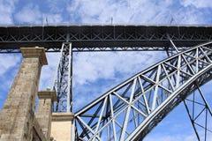 Ponte dos DOM Luis I. Fotos de Stock Royalty Free