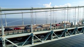 Ponte dos estreitos de Verrazano video estoque