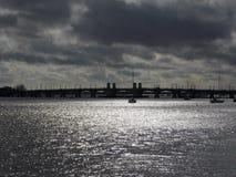 Ponte dos leões Florida Foto de Stock Royalty Free