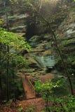 Ponte dos montes de Hocking Imagem de Stock Royalty Free