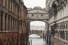 A ponte dos suspiros Foto de Stock Royalty Free