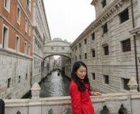 Ponte dos suspiros em Veneza Fotos de Stock Royalty Free