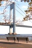 A ponte dos Verrazano-estreitos Imagens de Stock