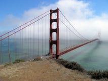 A ponte dourada do porte Imagem de Stock
