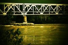 Ponte durante il passato Fotografia Stock Libera da Diritti