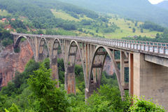 A ponte Dzhurzhevicha Fotos de Stock Royalty Free