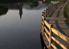 Ponte e água Foto de Stock