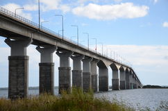 Ponte a Ãland em Sweden Imagens de Stock