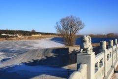 Ponte e a paisagem Imagem de Stock