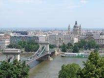 Ponte em Budapest Fotografia de Stock