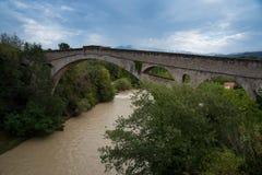 A ponte em Ceret no sul de França fotografia de stock royalty free