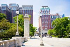 Ponte em Chicago do centro Foto de Stock Royalty Free