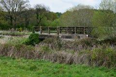 Ponte em Dereham velho a Holt Rail Way Line imagens de stock royalty free