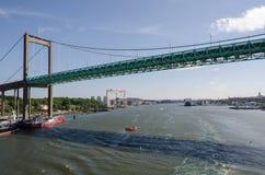 Ponte em Gothenburg fotos de stock royalty free