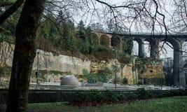 Ponte em Luxembourg Imagens de Stock