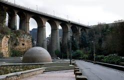 Ponte em Luxembourg Fotografia de Stock Royalty Free