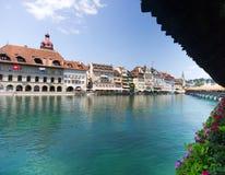 Ponte em Luzern imagens de stock royalty free