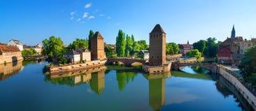 Ponte em Petite France Foto de Stock Royalty Free