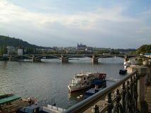 Ponte em Praga Foto de Stock