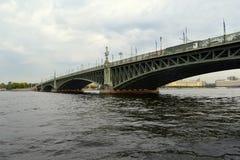 Ponte em St Petersburg Fotos de Stock