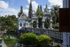 Ponte em Taman Ujung Fotos de Stock Royalty Free