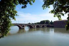 Ponte em Toulouse foto de stock