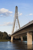 Ponte em Wistula Imagem de Stock Royalty Free