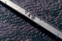 Ponte em Zadar Foto de Stock Royalty Free