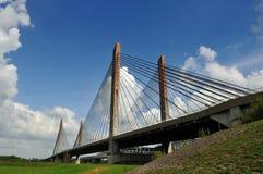 Ponte em Zaltbommel, Países Baixos Fotografia de Stock Royalty Free