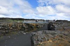 Ponte entre continentes fotografia de stock royalty free