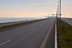Ponte entre Dinamarca e Sweden Fotografia de Stock Royalty Free
