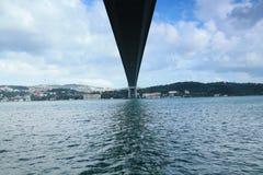 A ponte entre Europa e Ásia Imagem de Stock