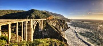 Ponte EUA da angra de Bixby foto de stock royalty free