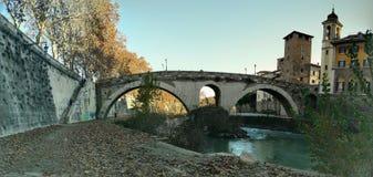 Ponte Fabricio Images libres de droits