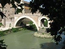 Ponte Fabricio Royalty Free Stock Photos