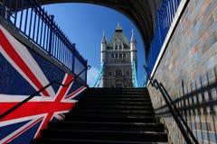 Ponte famosa da torre em Londres, Reino Unido Imagens de Stock Royalty Free