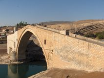 Ponte famosa de Malabadi foto de stock