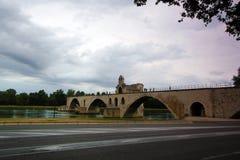 Ponte famoso di Avignone, Francia - Avignone Fotografie Stock Libere da Diritti