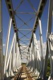 Ponte ferroviario Fotografia Stock